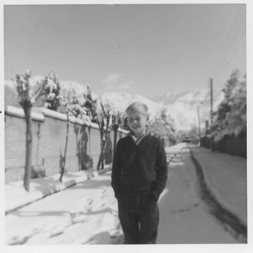 Outside our Tehran House 1968