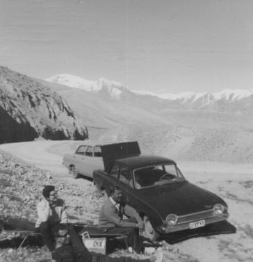 In the Karadj Mountains above Tehran
