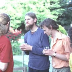 L to R Chris Day, Michael Fogarty, Leon Barmuta