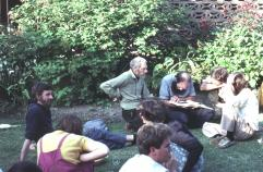 L to R: David Nielson, Les Southwell (green shirt), Vince Mahon (foreground), Rudi Frank (rear blue shirt)