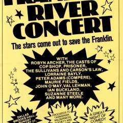 Franklin River concert 1983? The stars come out to save the Franklin
