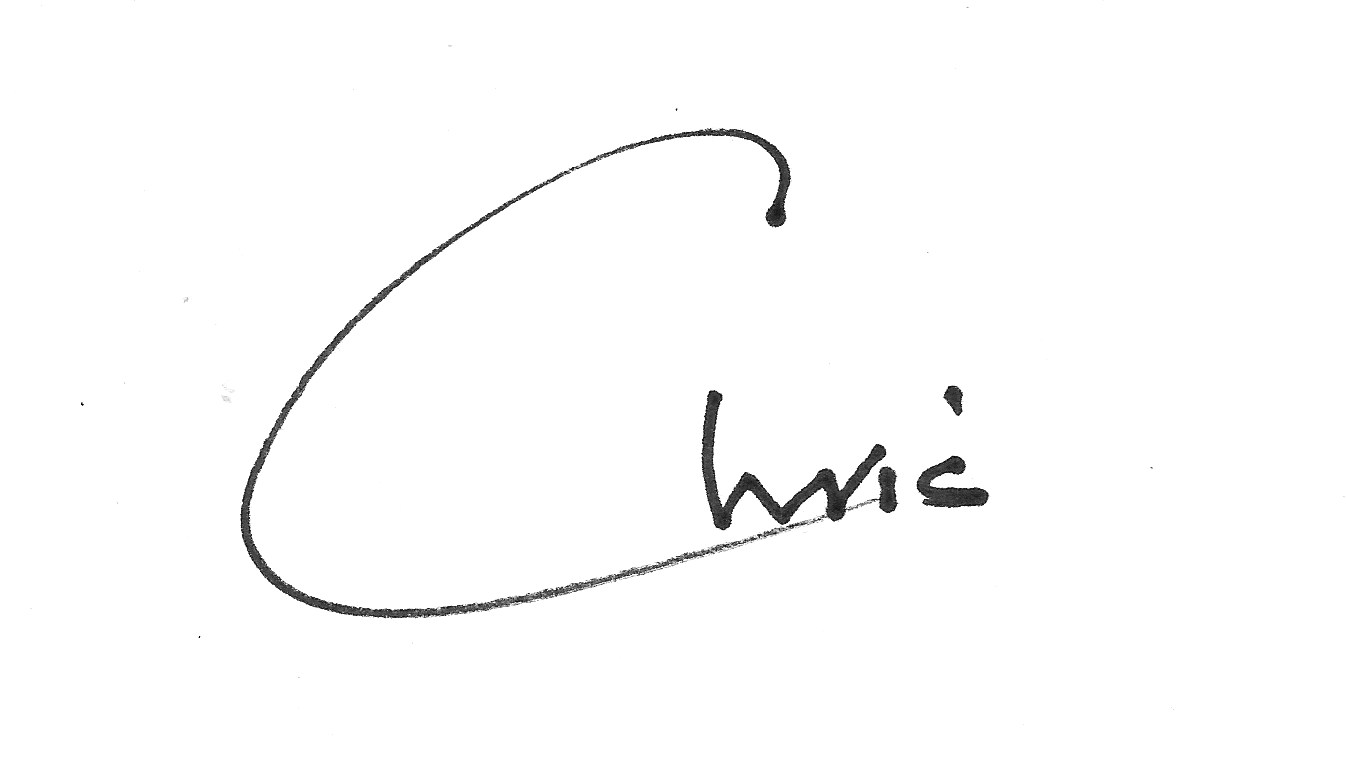 Signature FIRST NAME ONLY