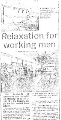 Working Mens' Club