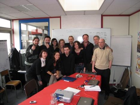 Greenpeace France campaign team 2008